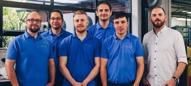 AME-3D team in workshop