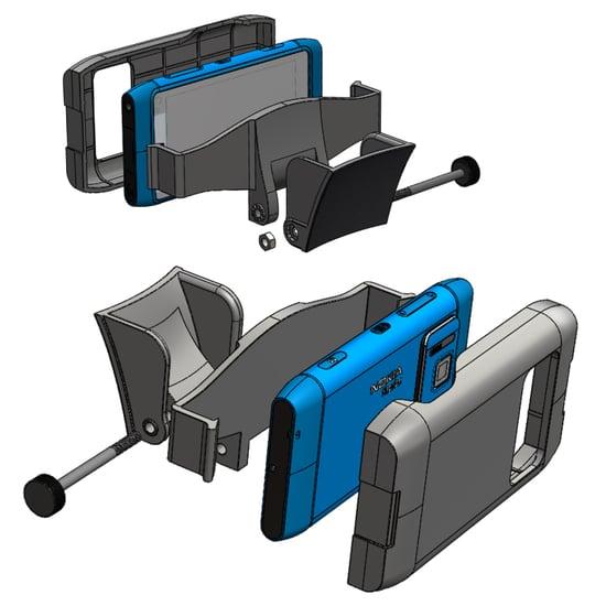Nokia_N8_Helmet_Holder_Sketch