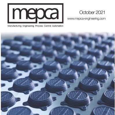 MEPCA October 2021 Additive Manufacturing Cover
