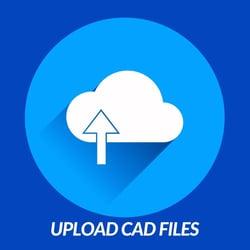 Upload CAD button still