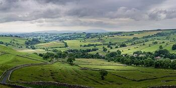 Malham landscape Yorkshire